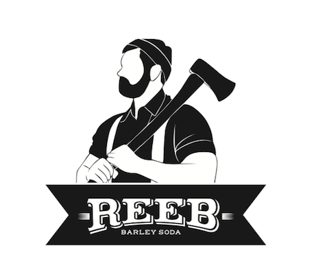 logo of man holding an axe on his shoulder
